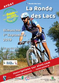 Plaquette de la Ronde des Lacs 2019