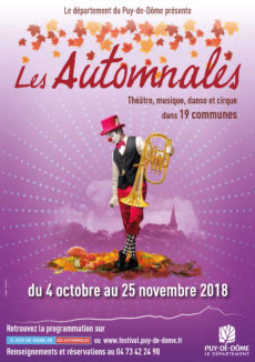 Programme Les Automnales 2018