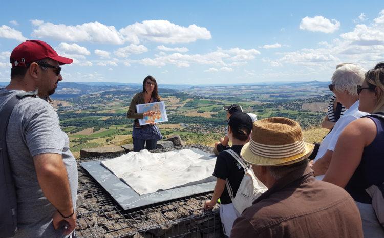 Visite guidée sur le plateau de Gergovie - Mond'Arverne Tourisme©