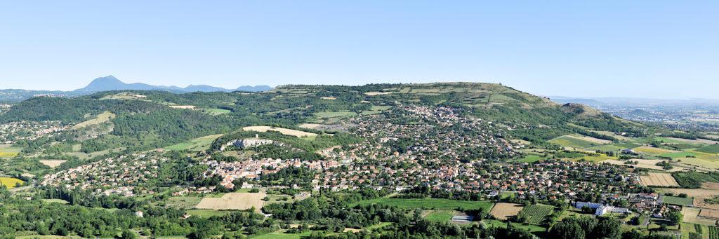 Vue du plateau de Gergovie - Henri Derus©