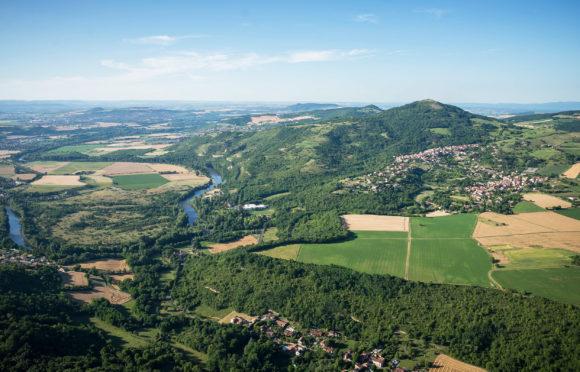 Vue de Saint-Maurice et de l'Allier - Visual Bird©