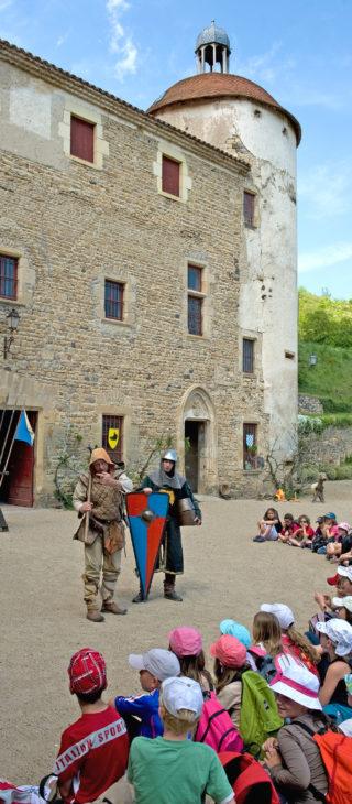 Castle of La Batisse, Chanonat - ©- J. Damase Auvergne-Rhône-Alpes Tourisme