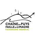 logo chaine des puy faille de Limagne patrimoine mondial