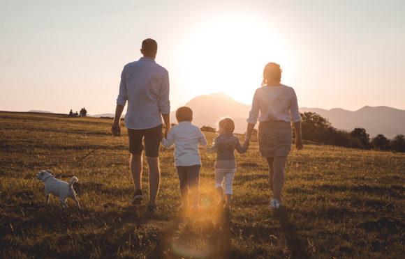Balade en famille sur le plateau de Gergovie - ANALOGUE
