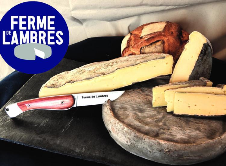 Vente de Saint-Nectaire à la ferme de Lambres - DR office de Tourisme du Sancy