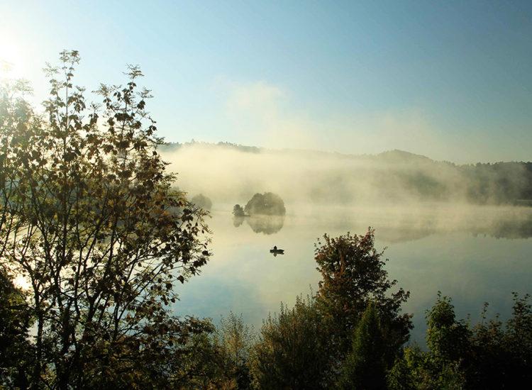 Pêche sur le lac d'Aydat - Aurélien MATHEVON