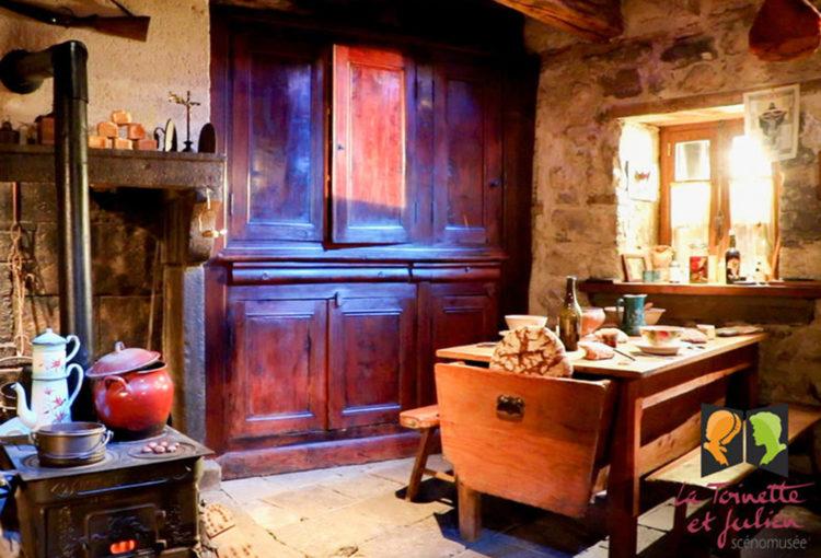 Scénomusée de la Toinette et Julien à Murat le Quaire - DR Office de tourisme du Sancy
