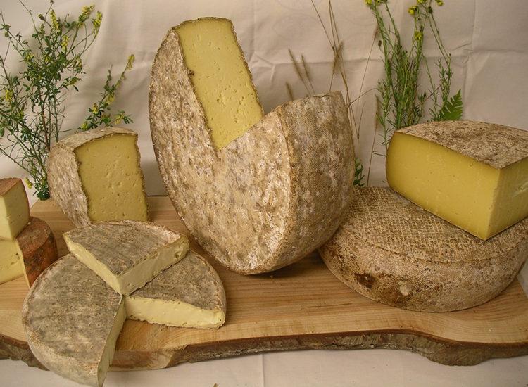 Fromages de l'abbaye de Randols commune de Cournols - Abbaye de Randols