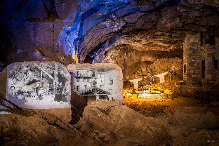 Grotte de la pierre de Volvic - PROD 63