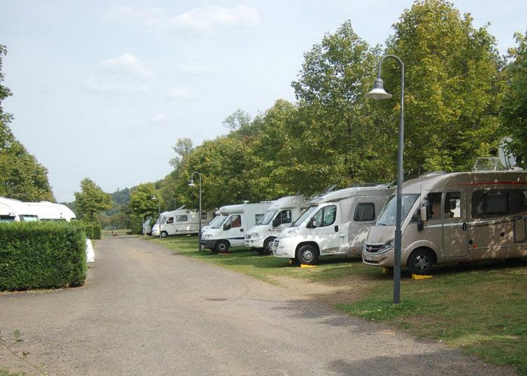 Aire de camping car d'Aydat