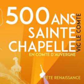 500 ans de la Sainte-Chapelle